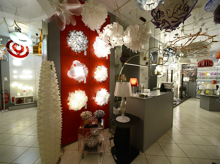 Showroom spaziolight milano official website lampadari
